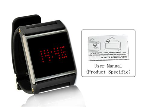 Black Strap, Touch Screen, Time Date