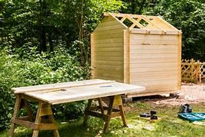 Abri de jardin : construire soi même son abri de jardin Ooreka