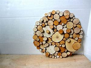 Tree slice art rustic slices sculpture abstract d