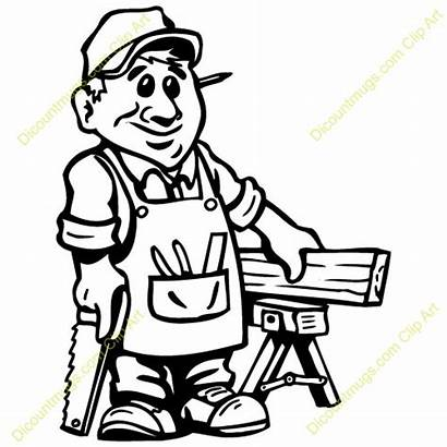 Carpenter Clipart Woodworker Woodworking Tools Carpentry Drawing