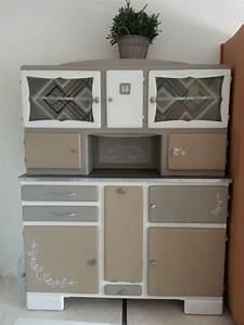 Relooker Meuble Cuisine : relooker un buffet de cuisine 12 ancien meuble moderne ~ Mglfilm.com Idées de Décoration