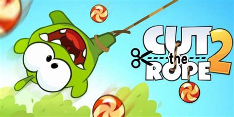 cut the rope 2 now available for a reduced price on the app store touch tap play