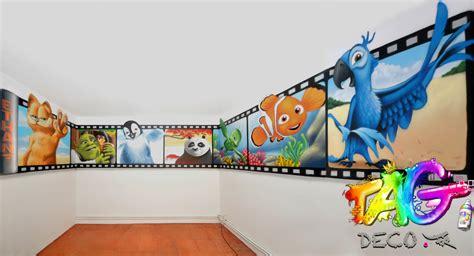 chambre disney tag graffiti décoration montpellier nîmes avignon