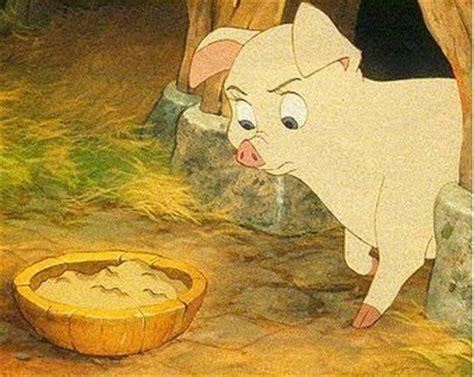 Image of Henwen from the animated movie, The Black Cauldron
