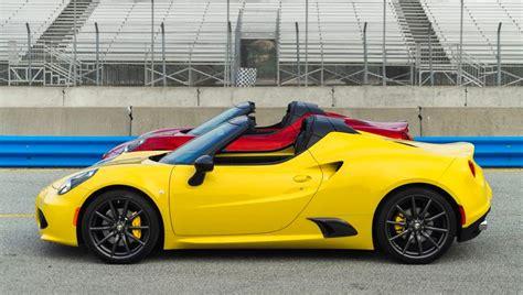 Alfa Romeo 4c Spider U.s. Pricing Revealed