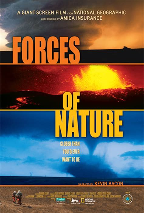 Imax Forces Of Nature Movie Information