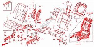 Front Seat R   For Honda Cars Civic 1 4 Base 5 Doors 6