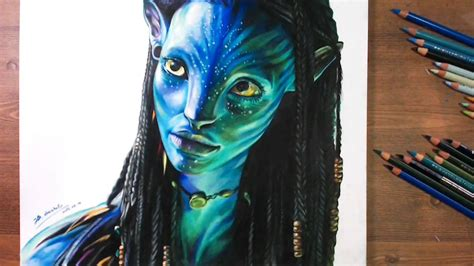Neytiri(zoe Saldana), Avatar 2009