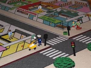 Tapis Enfant Route : tapitom tapis enfant ville 130 x 200 cm ~ Teatrodelosmanantiales.com Idées de Décoration