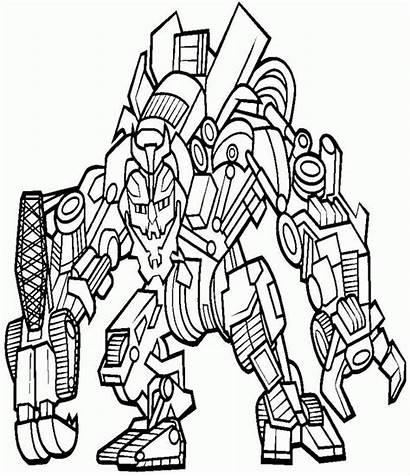 Coloring Transformers Boys Ab