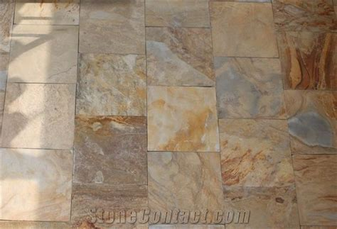 Rough Surface Slate Flooring Tiles from China