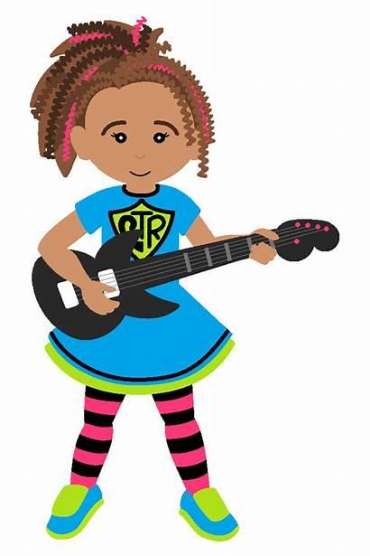 Rock Star Clip Clipart Sing Guitar Air