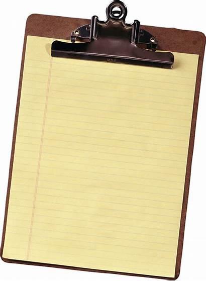 Clipboard Paper Clip Clipart Transparent Sheet Holder
