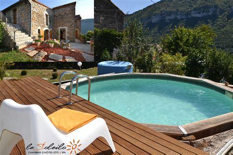 chambre d hote spa normandie gîte et chambre d 39 hôte avec piscine et spa gorges du tarn