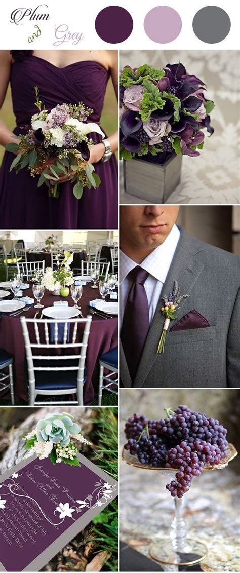 ideas  plum wedding decor  pinterest