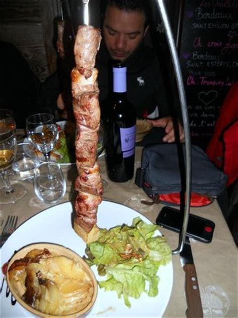potence cuisine la potence viande de boeuf viande de canard et gratin