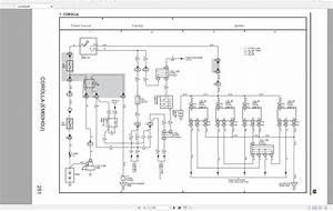 Toyota Corolla  Usa   2006  Electrical Wiring Diagram