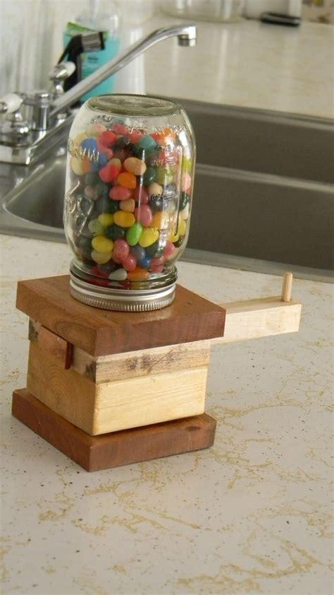diy mason jar candy dispenser diy projects pinterest