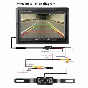 Leekooluu Backup Camera Wiring Diagram