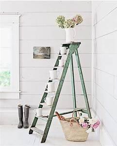 Echelle Bois Deco : chelle d co comment d corer sa maison avec une chelle en bois ~ Teatrodelosmanantiales.com Idées de Décoration