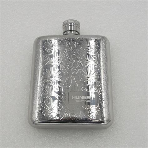 Outdoor portable portable flagon 304 stainless steel hip