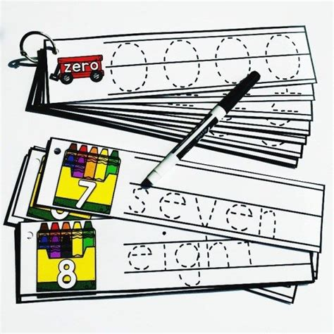 preschool tracing cards  images preschool tracing