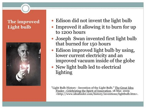 ppt bright ideas emerging from the edison