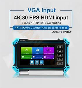 Newest 5 Inch All In One Vga  U0026 4k Hdmi Input Ip Camera