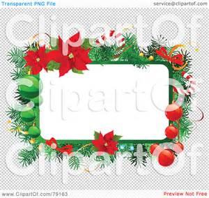 Free Christmas Clip Art Text Box