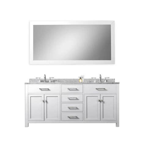 white double sink vanity 60 inch double sink bathroom vanity in pure white