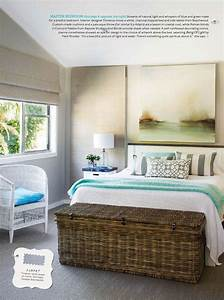 Coastal Blissful Master Bedroom - Interiors By Color