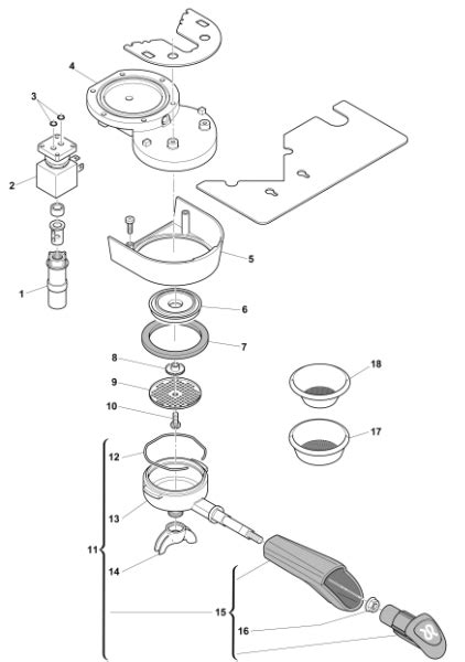 workshop parts coffee machine parts  brand rancilio parts