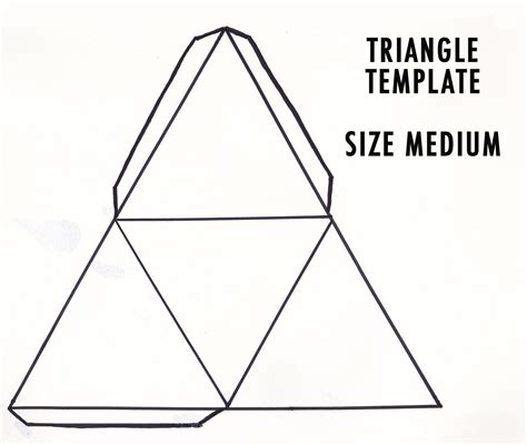 Triangle Template For Kid Craft by Triangle Paper Temple Google Keres 233 S Cutting