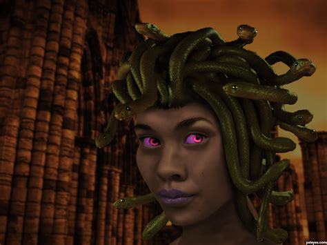 Medusa picture, by thefinalcut for: asian girl photoshop ...