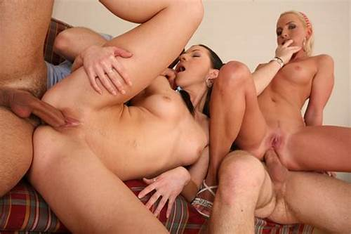 Family Roleplay Gonzo Young #Blonde #And #Brunette #Both #With #Horny #Asses #Play #With #Dildo