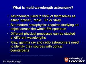 PPT - 3671: Multi-wavelength Astronomy PowerPoint ...