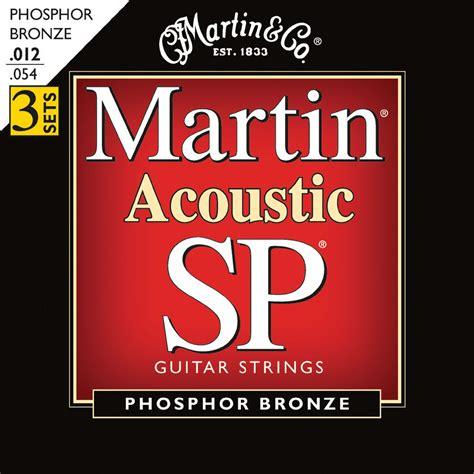 martin acoustic sp phosphor bronze guitar strings