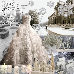 wedding ideas  winter wedding