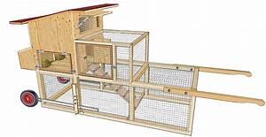 Cabane Pour Poule : tracteur poules plan poulailler bio ~ Premium-room.com Idées de Décoration