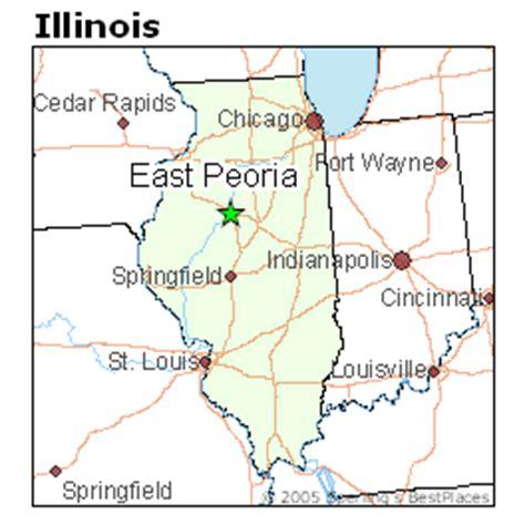 places    east peoria illinois