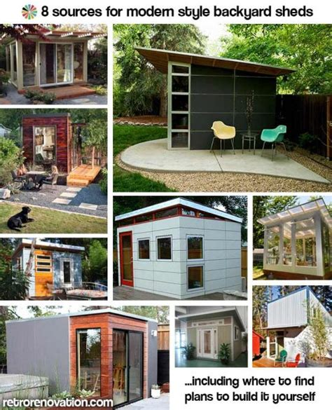 kitchen remodel ideas for homes 9 sources for midcentury modern sheds prefab diy kits