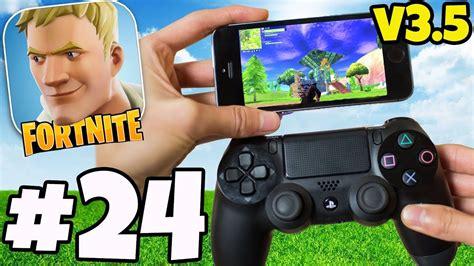 fortnite   controller  mobile gameplay