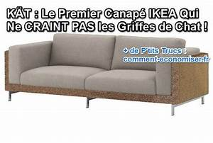 Anti Griffe Chat : k t le premier canap ikea qui ne craint pas les griffes ~ Premium-room.com Idées de Décoration