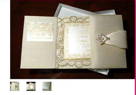 the ultimate in luxe wedding invitations silk covered