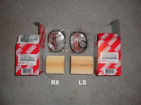 2010 Rx350 Oil Filter.