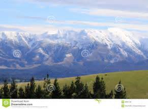 Southern Alps New Zealand