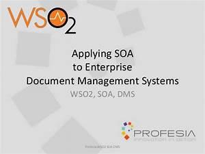 applying soa to an enterprise document management system With enterprise document management system