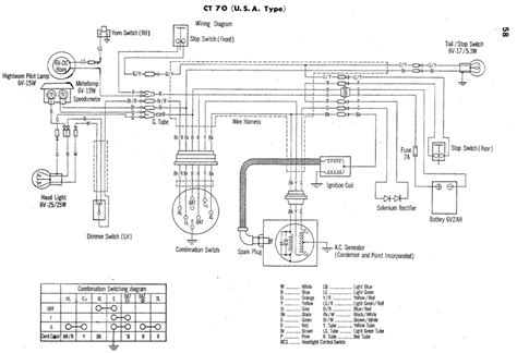 1988 Mini Wiring Diagram by Electrical Wiring Diagram Of 1976 Honda Cb125s 59660
