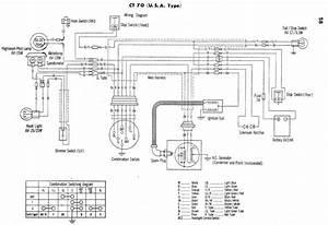 Electrical Wiring Diagram Of 1976 Honda Cb125s  59660