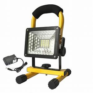 Led Outdoor Lampe : 30w rechargeable led floodlight high power xm l t6 flood light outdoor work lamp portable ~ Markanthonyermac.com Haus und Dekorationen